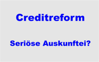 Creditreform Crefo Auskunftei Ratingagentur und Inkasso - seriöse-Auskunftei?