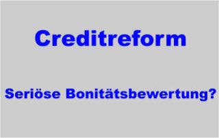 Creditreform Crefo Auskunftei Ratingagentur und Inkasso - seriöse Bonitätsbewertung?