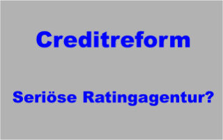 Creditreform Crefo Auskunftei Ratingagentur und Inkasso - seriöse Ratingagentur?